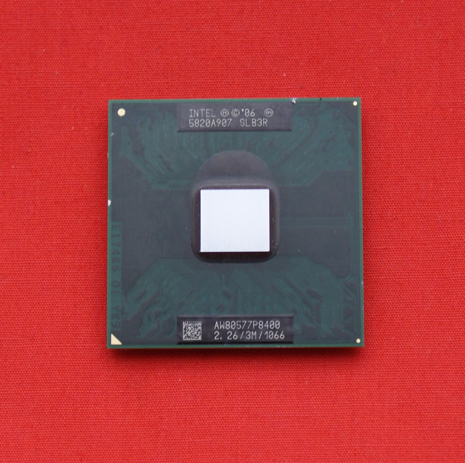 Процессор двухъядерный Intel Core 2 Duo P8400 (2.267GHz/3Mb/1066), SLB3R