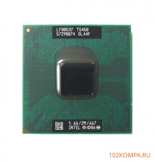 Процессор Intel Core 2 Duo T5450 (SLA4F)
