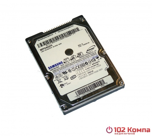 Жёсткий Диск 40Gb IDE Samsung Spinpoint M40, MP0402H/SCC, s/n: S077J10Y907390